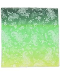 Ra-re Square Scarf - Green