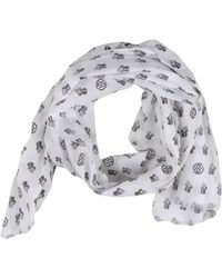 Ra-re Oblong Scarf - White