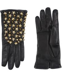 Philipp Plein Gloves - Black