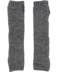 Armani Jeans Gloves - Gray
