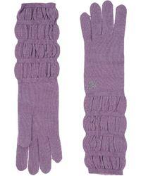 Blumarine Gloves - Purple