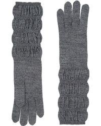 Blumarine Gloves - Gray