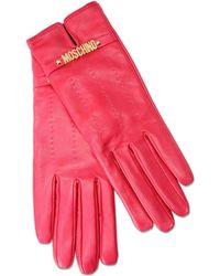 Moschino Gloves - Pink