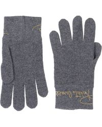 Roberto Cavalli Gloves - Gray