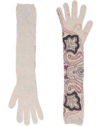 Etro Gloves - Gray