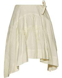 JW Anderson Knee Length Skirt - White