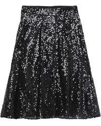 Victoria Beckham Midi Skirt - Black