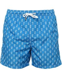 Fiorio Swim Trunks - Blue