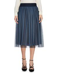 Roberto Collina - 3/4 Length Skirt - Lyst