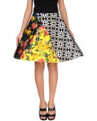 Fausto Puglisi Knee Length Skirt - Black