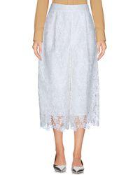Diane von Furstenberg 3/4-length Short - White