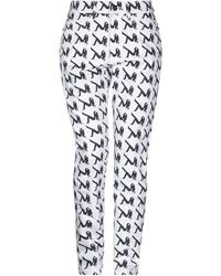 Calvin Klein Denim Trousers - White