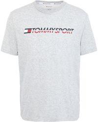 Tommy Sport Camiseta - Gris
