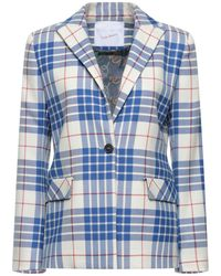 Giada Benincasa Suit Jacket - Blue