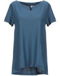 European Culture T-shirt - Blu