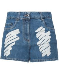 Moschino Denim Shorts - Blue