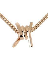 DSquared² Necklace - Metallic