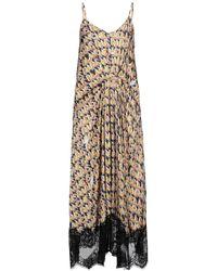 ISABELLE BLANCHE Paris Long Dress - Grey