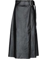 Each x Other 3/4 Length Skirt - Black