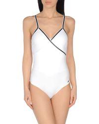 Les Copains - One-piece Swimsuit - Lyst