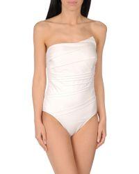 GUILLERMINA BAEZA - One-piece Swimsuit - Lyst
