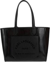 Karl Lagerfeld Handtaschen - Schwarz
