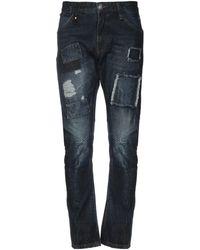 Philipp Plein Denim Pants - Blue