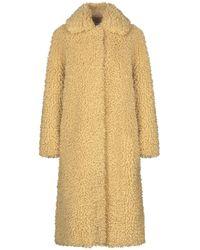 Stand Studio Teddy Coat - Yellow