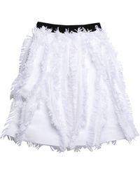 Marco Bologna Midi Skirt - White