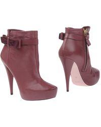 Nina Ricci - Ankle Boots - Lyst