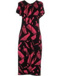 Versace Vestito al ginocchio - Rosso