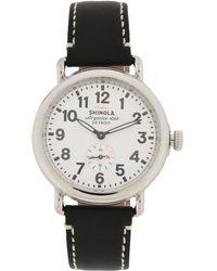 Shinola Armbanduhr - Weiß