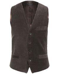 0/zero Construction Waistcoat - Brown