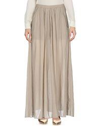 European Culture - Long Skirt - Lyst