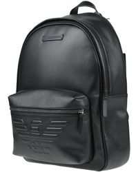 Emporio Armani Backpacks & Bum Bags - Black