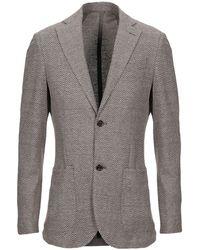 Eleventy Suit Jacket - Brown