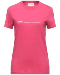 WOOD WOOD T-shirt - Rose