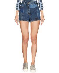 McQ - Denim Shorts - Lyst