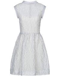 Jucca Short Dress - Grey