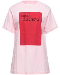 Victoria, Victoria Beckham T-shirt - Rose