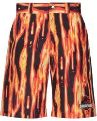 Gcds Shorts & Bermuda Shorts - Orange