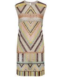 Valentino Short Dress - Natural