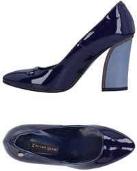 Manila Grace Court Shoes - Blue