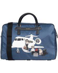 Dolce & Gabbana Travel & Duffel Bag - Blue