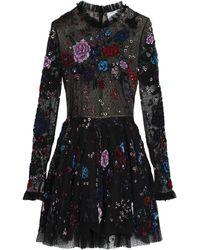 Zuhair Murad Short Dress - Black