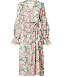 Art Dealer Midi Dress - Green