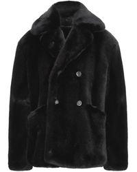 Dolce & Gabbana Teddy Coat - Black