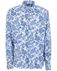 Aglini Shirt - Blue