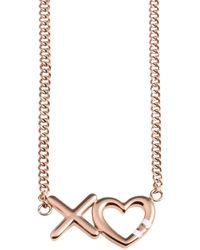Tommy Hilfiger Necklace - Metallic