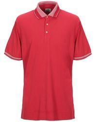 Bagutta Polo Shirt - Red